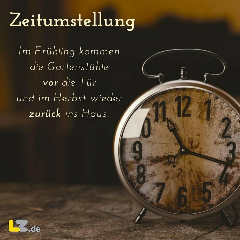 Umstellung Uhr